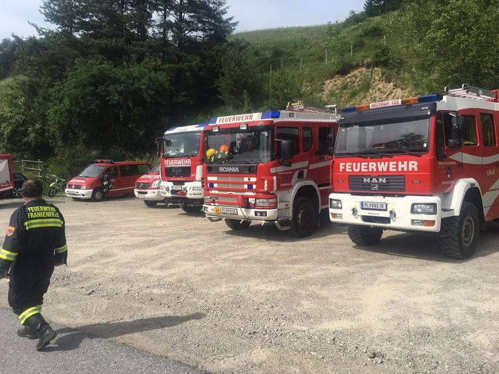 You are browsing images from the article: 28.06.2017: Waldbrand im alpinen Gelände in der Marktgemeinde Frankenfels