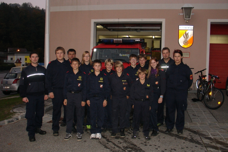 You are browsing images from the article: Feuerwehrjugend Orientierungsbewerb