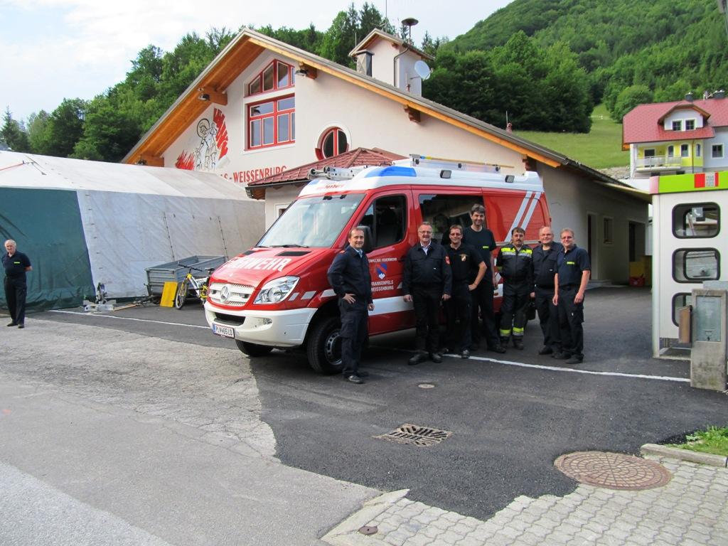 You are browsing images from the article: Neues Kleinlöschfahrzeug für die Feuerwache Weißenburg