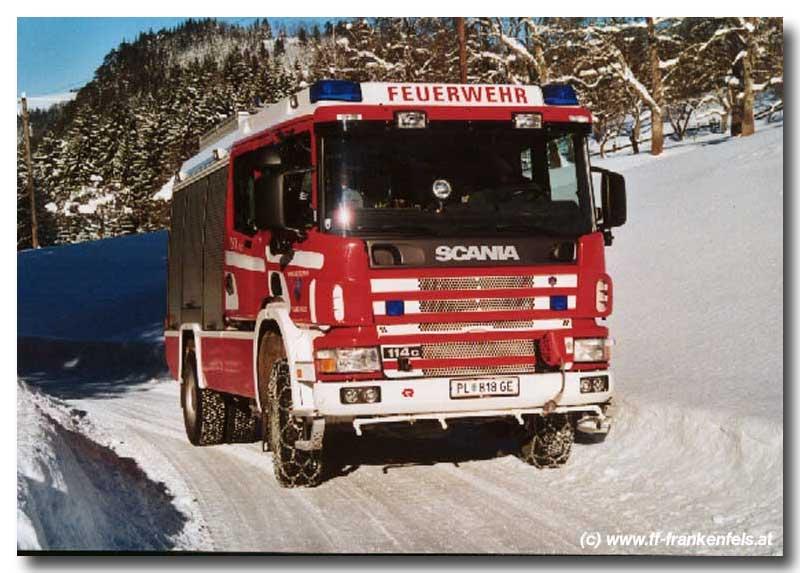 You are browsing images from the article: Tanklöschfahrzeug mit Allradantrieb und 4000 Liter Löschwasser