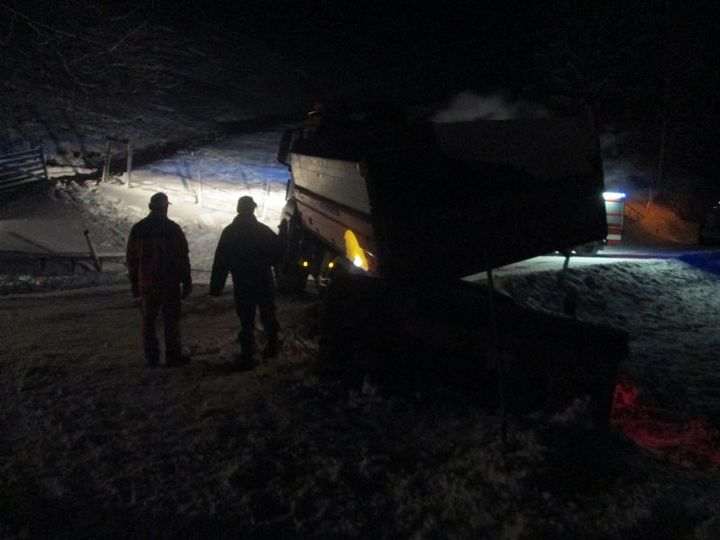 You are browsing images from the article: 27.01.2015: Räumfahrzeug von der Fahrbahn abgekommen