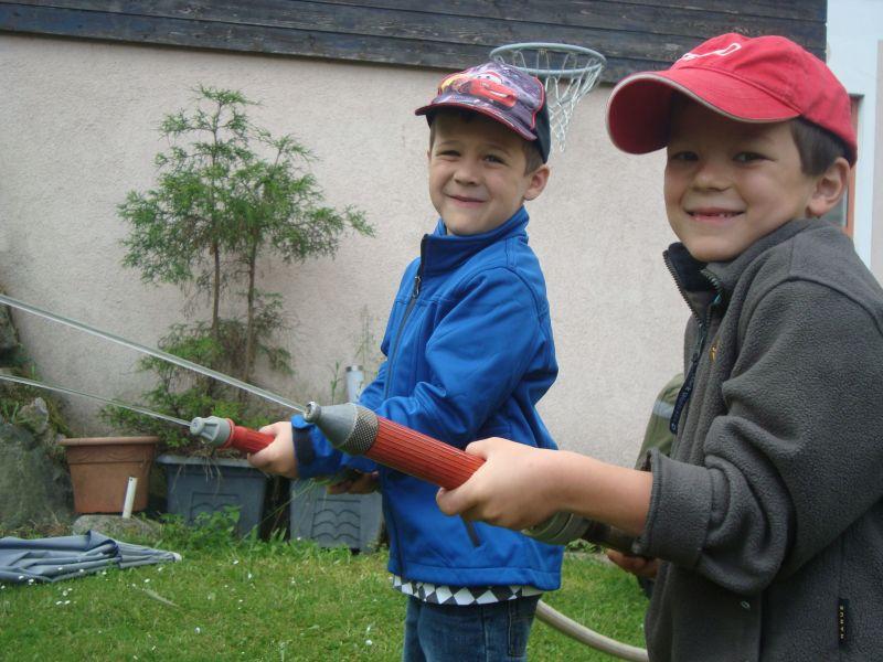 You are browsing images from the article: Kindergarten bei der Feuerwehr zu Besuch