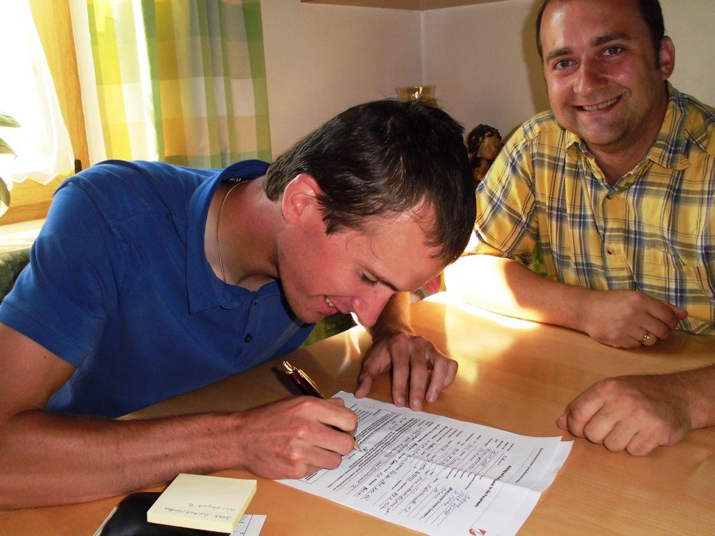 You are browsing images from the article: Zwei neue Mitglieder bei der Feuerwache Weißenburg