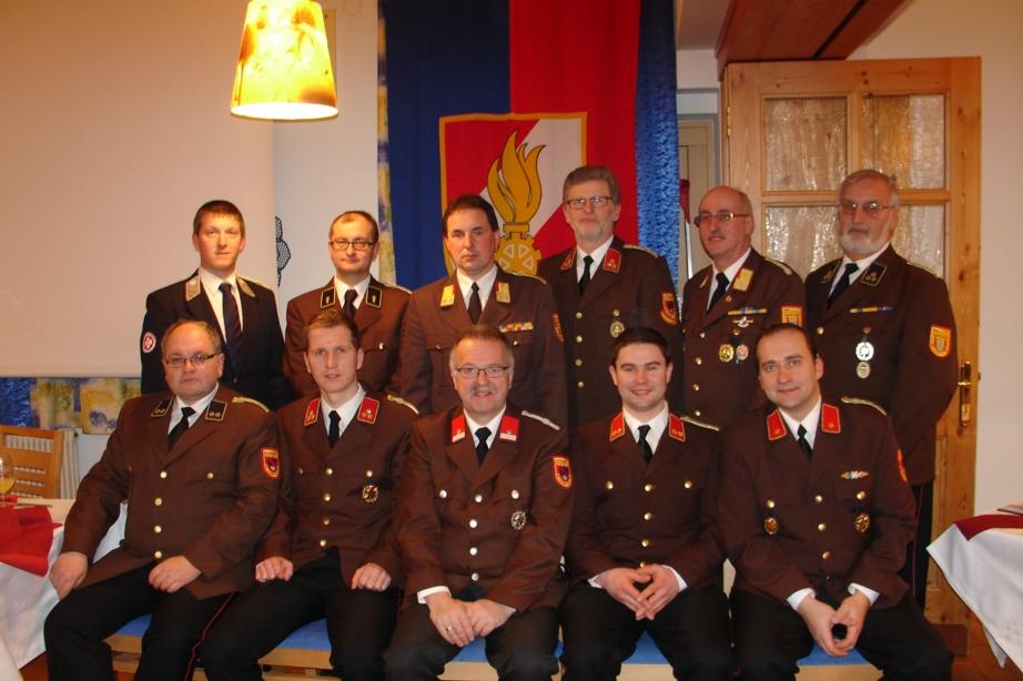 You are browsing images from the article: 131. Jahreshauptversammlung - Feuerwehr legte Bilanz
