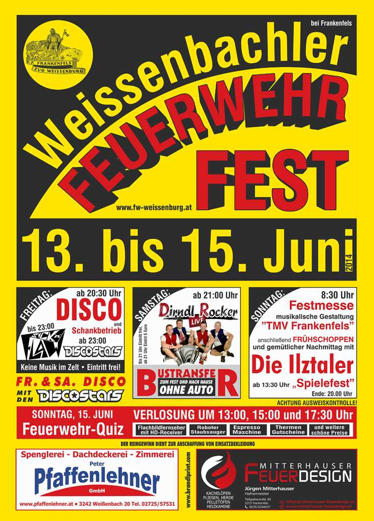 You are browsing images from the article: Weißenbachler Feuerwehrfest 2014