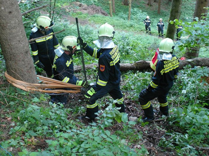 You are browsing images from the article: Einsatzübung Forstunfall