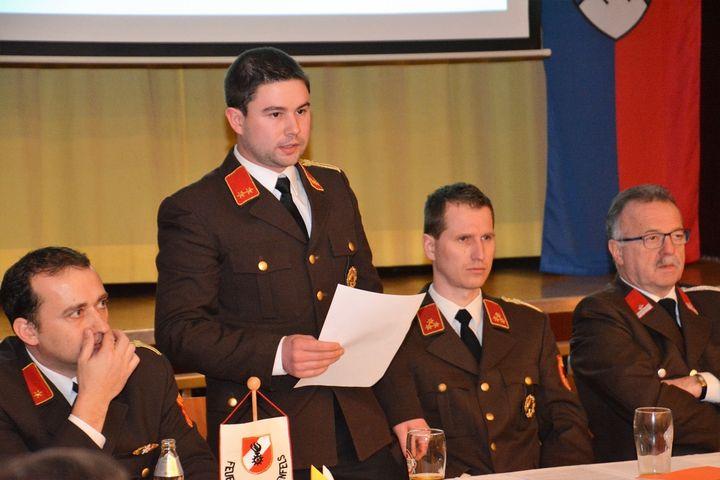 You are browsing images from the article: 134. Jahreshauptversammlung - Feuerwehr legt Bilanz