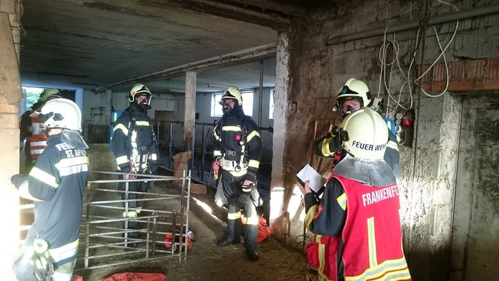 You are browsing images from the article: Branddienstübung am Schlagerboden, Gemeinde St.Anton/Jeßnitz